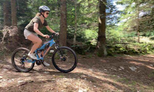 Electric mountainbike lavarone
